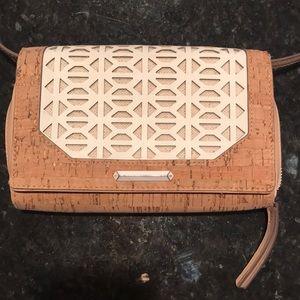 Stella and Dot Nolita Geo Cork crossbody bag purse